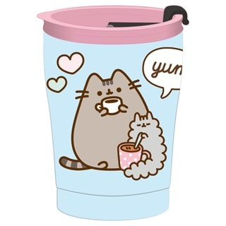 Pusheen Cat Foodie Reusable Stainless Thermal Insulated Cup