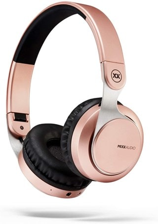 Mixx Audio JX1 Rose Gold On Ear Bluetooth Headphones