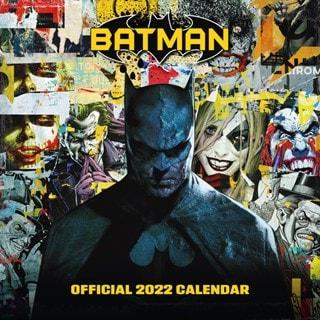 Batman Comics Square 2022 Calendar
