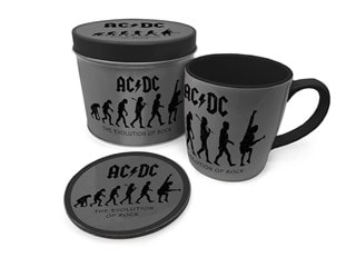 AC/DC: Evolution Of Rock Mug Gift Set in Tin