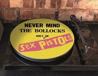 Sex Pistols Never Mind The Bollocks Vinyl Slipmat