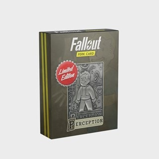 Fallout: Perception Metal Perk Card