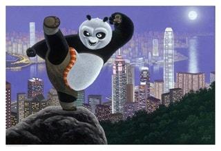 Kung Fu Panda: Hong Kong Warrior Giclee Limited Edition Art Print