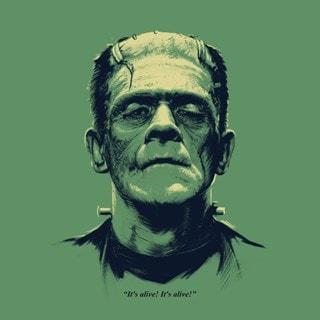 Frankenstein: Headshot Art Print