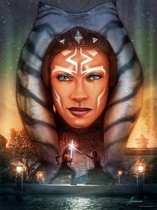 Lost Jedi's Return Adam Schickling Star Wars Art Print