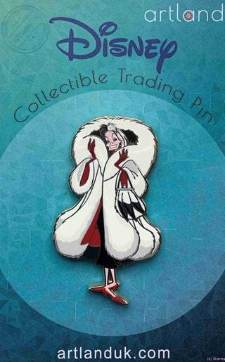 Cruella: Disney Limited Edition Artland Pin
