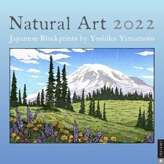 Natural Art: Japanese Blockprints Square 2022 Calendar