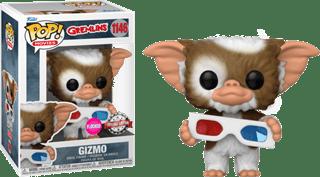 Flocked Gizmo With 3D Glasses (1146): Gremlins Pop Vinyl