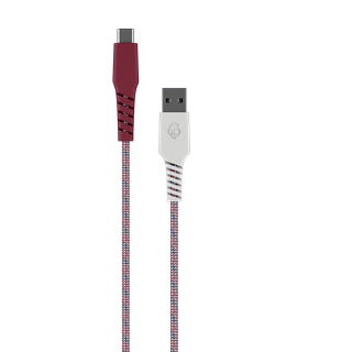 Skullcandy Braided USB-C Vice/Crimson Cable 1.2m