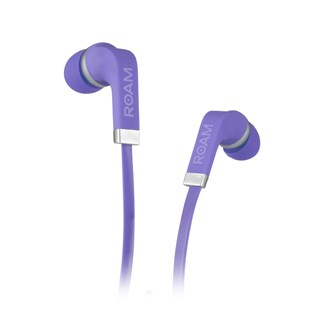 Roam Colours Grape Purple Earphones w/Mic (hmv Exclusive)
