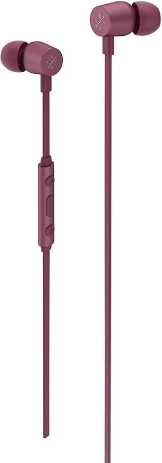 Kygo E2/400 Burgundy Earphones W/Mic