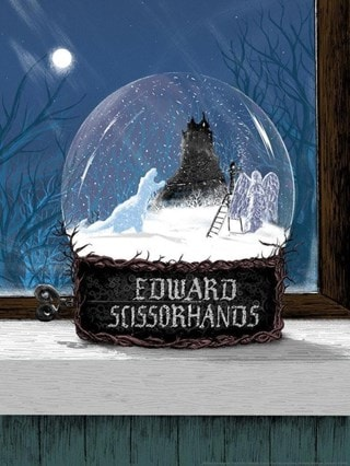 Edward Scissorhands: Ed's Garden Matt Saunders Limited Edition Lithograph Print