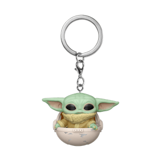 The Child in Pod: The Mandalorian: Star Wars Pop Vinyl Key Chain