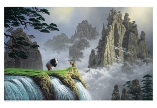 Kung Fu Panda: Respect For All Things Giclee Limited Edition Art Print