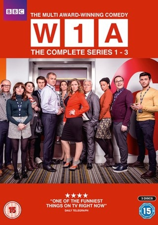 W1A: The Complete Series 1-3
