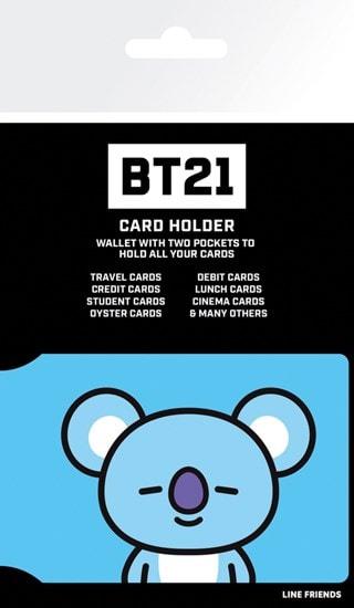 Card Holder BT21: Koya
