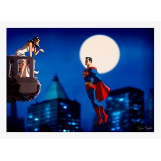 Superman: At The Balcony: Limited Edition Art Print