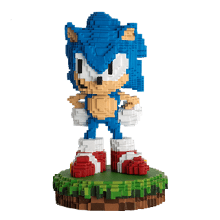 16 Bit Sonic: Sonic Figurine: Hero Collector