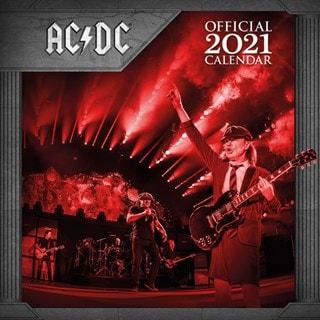 AC/DC Square 2021 Calendar