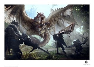 Monster Hunter: Limited Edition Art Print