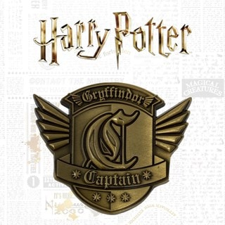 Harry Potter: Captains Badge Medallion (online only)