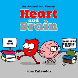 Heart and Brain Square 2022 Calendar