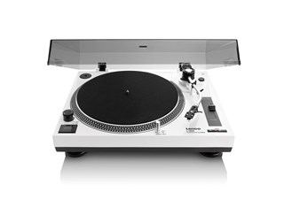 Lenco LS-3808 White Direct Drive Turntable