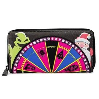 Nightmare Before Christmas: Oogie Boogie Wheel Zip Around Loungefly Wallet