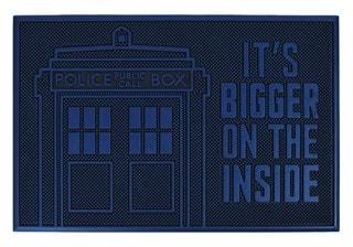 Doctor Who: Tardis Rubber Door Mat