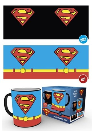 DC Comics: Superman Costume Heat Change Mug
