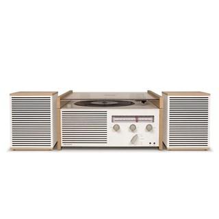 Crosley Switch White Turntable & Speakers