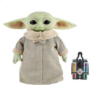 The Child, Grogu (Baby Yoda) Real Moves: Mandalorian: Star Wars Interactive Plush