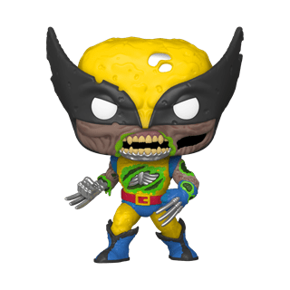 Zombie Wolverine (662) Marvel Zombies (hmv Exclusive) Glow in the Dark Pop Vinyl