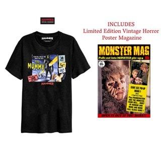 Hammer Horror: Mummy: T-Shirt and Poster Magazine Set