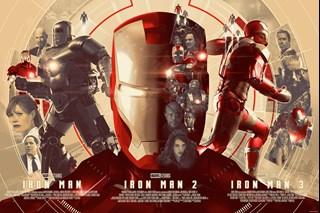 I Am Iron Man Devin Schoeffler Art Print