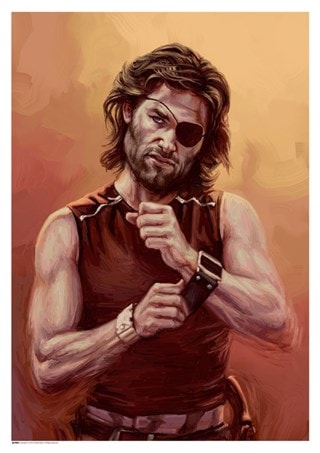 Escape From New York: The Name's Plissken Art Print