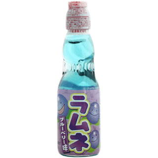 Hata Blueberry Ramune: Soft Drink Pack of 6