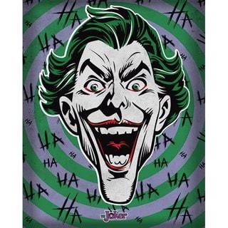 The Joker: Hahaha Canvas Print