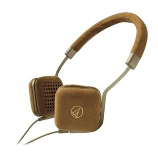 Audio Technica ATH-UN1 Gold Headphones