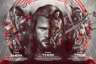 Thor If He Be Worthy Devin Schoeffler Art Print