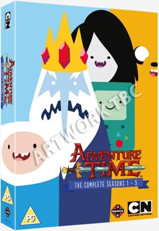 Adventure Time: The Complete Seasons 1-5