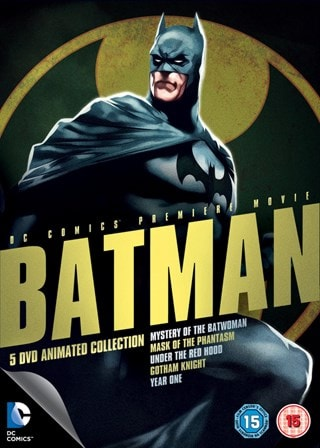 Batman: Mystery of the Batwoman/Mask of the Phantasm/Under the...