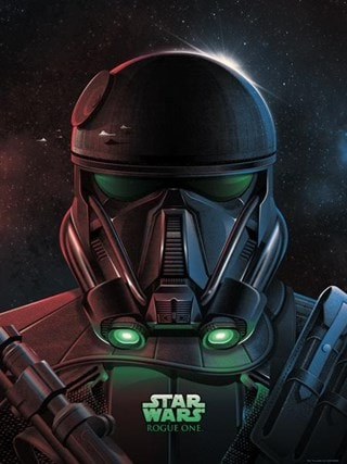 Imperial Death Trooper: Star Wars Limited Edition Art Print