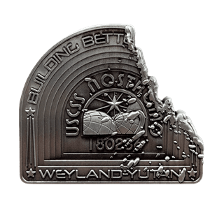 Alien: Nostromo Metal Badge (online only)