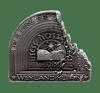 Alien: Nostromo Metal Badge (online only)