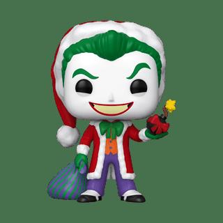 The Joker as Santa (358) DC Holiday Pop Vinyl