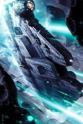 Star Wars: Gambler's Rush Giclee Limited Edition Art Print