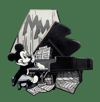 Pianist Mickey: Limited Edition Artland Pin