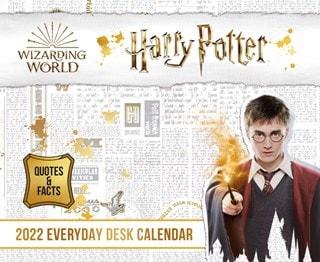Harry Potter Desk Block 2022 Calendar
