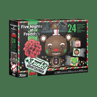 Five Nights At Freddy's Blacklight (FNAF) 2021 Advent Calendar